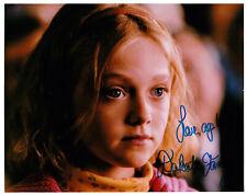Dakota FANNING - Inscribed - 10x8 Photo Hand Signed Autograph with COA