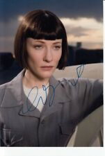 CATE BLANCHETT signed Autogramm 20x27cm INDIANA JONES In Person autograph COA
