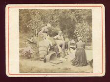 fin XIXé ancienne photo Laveuses