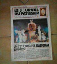 Le journal du pâtissier confiseur-glacier. N° 66. 1984. Usures.
