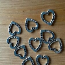 Choose Pack size Bright Silver Plated Tibetan Peace Charm Pendants 23mm x 20mm