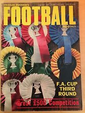 Charles Buchan's Football Monthly January 1969 F.A. Cup 3rd Round