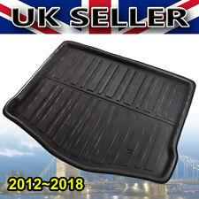 FOR Ford Focus Hatchback Mk3 2011-2018 Tailored Carpet Boot Mat Car Liner Hatch