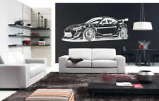 Wall Vinyl Sticker Room Decal Mural Decor Art Speed F1 Car Speed Racing bo1700