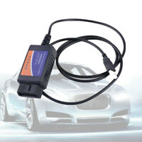 ELM327 USB Interface OBDII Car Diagnostic Scanner Cable Fit Windows PC Computer
