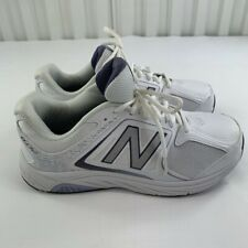 New Balance Womens 847 V3 WW847WT3 White Running Shoes Lace Up Low Top Size 8.5