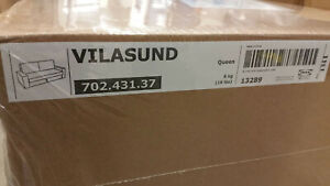 IKEA Vilasund SLIPCOVERS for 3 Seat Sofa Bed VITTARYD LIGHT BEIGE Sofabed Cover
