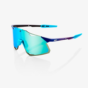 100% Cycling Sunglasses - Matte Metallic Blue Topaz