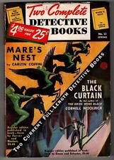 Two Complete Detective Books Spring 1942  Cornell Woolrich- The Black Curtain -
