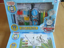Thomas Tank & Friends 19 Piece Mini Art Pack 3+ years CLEARANCE PRICE