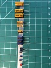 Nakamichi 1000ZXL Replacement POWER SUPPLY PCB Capacitor Kit TOP QUALITY PARTS