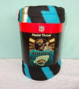 "Nfl Jacksonville Jaguar 50""x 60"" Soft Fleece Throw Blanket NEW"