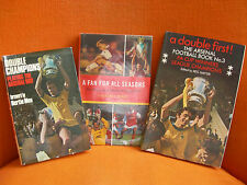 LOT 3 LIVRES/ 3 BOOKS: ARSENAL FOOTBALL CLUB – 1971 & 1999 – IN ENGLISH