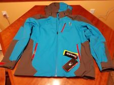 Spyder Men's Chambers  Ski Jacket 3M Thinsulate Color ELB/POL/RED