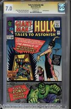 TALES TO ASTONISH #66 CGC 7.0 STAN LEE SS LEADER APP CGC #1206487019