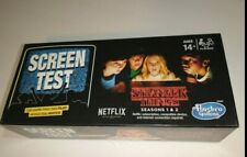 New Hasbro Stranger Things Screen Test Card Board Game new sealed
