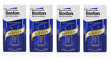 NEW Bausch & Lomb Boston Simplus Multi Action Contact Lens Solution 4 x 120ml