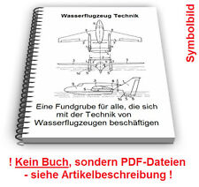 Wasserflugzeug selbst bauen - Flugboot Schwimmer Tragfläche Technik Patente