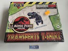 Print Paks - Transferts T-Shirt - Jurassic Park Le Monde Perdu - 1997 - Neuf