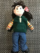 TY Beanie Boppers - Spunky Sammie  RETIRED (2002)  w/Heart and Tug Tag