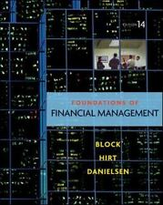 Foundations of Financial Management 14th edition 2011 by Block, Hirt & Danielsen