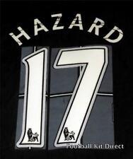 Chelsea Hazard 17 Football Shirt Name/Number Set Child/Youth Printing