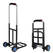 200Lb Folding Cart Hand Truck Convertible Push Dolly Collapsible Trolley Luggage