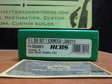 Brand New RCBS 7.62 X 39 die set Re loading reloader Free shipping 35001