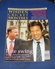 WISDEN CRICKET MONTHLY SEPTEMBER 1996 - LATE SWING BOTHAM V IMRAN