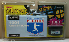 Tiger Electronics Quiz Wiz 1001 Questions MLB BASEBALL PLAYERS Cartridge Book 11