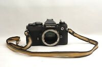 @ Ship in 24 Hours! @ Discount! @ Nikon FE 35mm Film SLR Camera Body from Japan