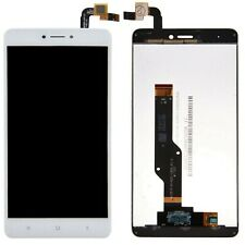 Lcd Display Touch Screen Vetrino Flex Display Bianco Per Xiaomi Redmi Note 4X