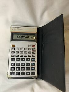 Sharp Scientific Electronic Pocket Calculator EL-506H With Case - New Batteries