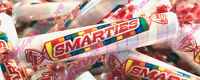 Smarties Candy Old Fashioned Wrapped Roll Candy Snack Size! Free Shipping!