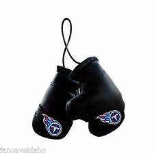 "NFL Tennessee Titans 4"" Mini Boxing Gloves Rearview Mirror Auto Ornament"