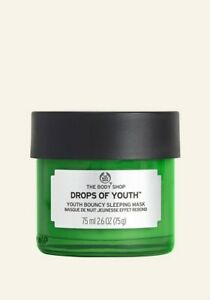 💚THE BODY SHOP💚 Drops of Youth 💚Bouncy Sleeping Mask 💚VEGAN 💚RRP £22💚