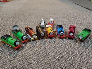 Large Lot Of 170 Thomas The Train Locomotives Tracks Cars Buildings 2001-2009
