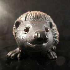 Figurine animal hérisson résine vintage art déco design XXe PN France N2988