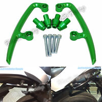 Verde sellino posteriore passeggero maniglie supporto per KAWASAKI Z650 2017>