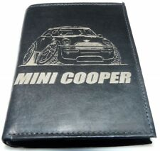 Mini Cooper S BMW Tuning en Cuir Argent Bourse BD Graphique portefeuille porte-monnaie GEIL