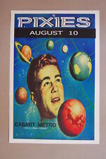 The Pixies Concert Tour Poster 1989 Cabart Metro Chicago