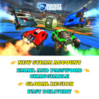 Rocket League - New Steam Account - Global Region - Fast Delivery