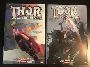 Thor God of Thunder Vol 1 & 2 OHC Oversized Jason Aaron Marvel Deluxe Edition