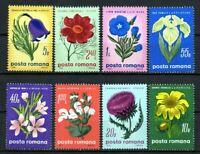 RUMANIA / ROMANIA / ROEMENIE  año 1970 yvert nr. 2517/24  nueva flores