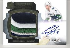Cody Hodgson 2011-12 The Cup Limited Logos Autograph Logo Patch 21/50 Auto RC