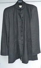 "Ensemble couture (veste/ jupe) en lin noir "" Open Collection"""