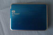 Western Digital My Passport Ultra 1TB WDBZFP0010BBL-01 External Hard Drive Blue