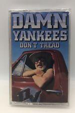 Damn Yankees Don't Tread Cassette audio tape- New