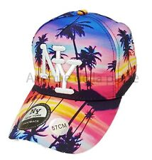 06c563971b Casquette NY New York snapback palmiers coucher de soleil neuf