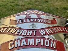 NWA TELEVISION WRESTLING CHAMPION BELT